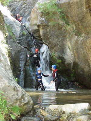 Canyoning in Meribel
