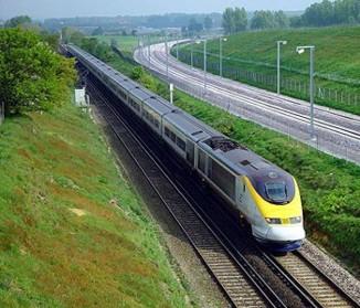 Eurostar to Meribel, French Alps.