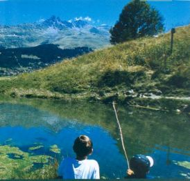 Fishing in Meribel