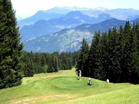 Golf in Meribel
