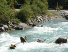 Summers Water Sports in Meribel
