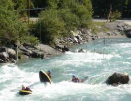 Summers Water Sports in Meribel