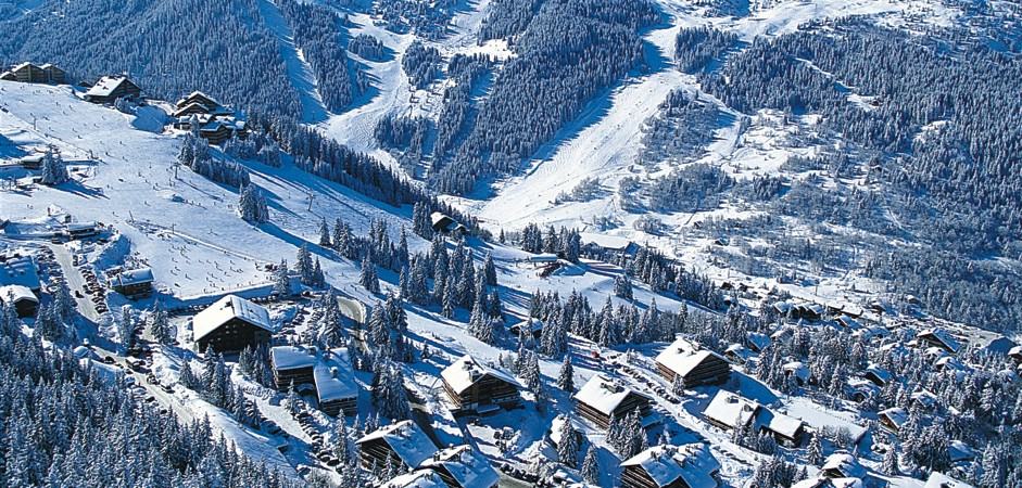 Meribel Apartments Location
