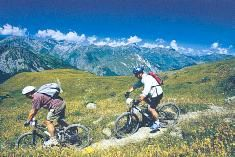 Summer in Meribel - Mountain Biking