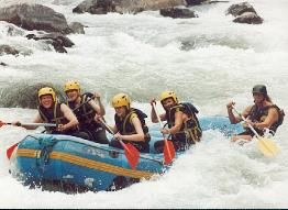 Rafting in Meribel