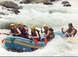 Rafting in Meribel