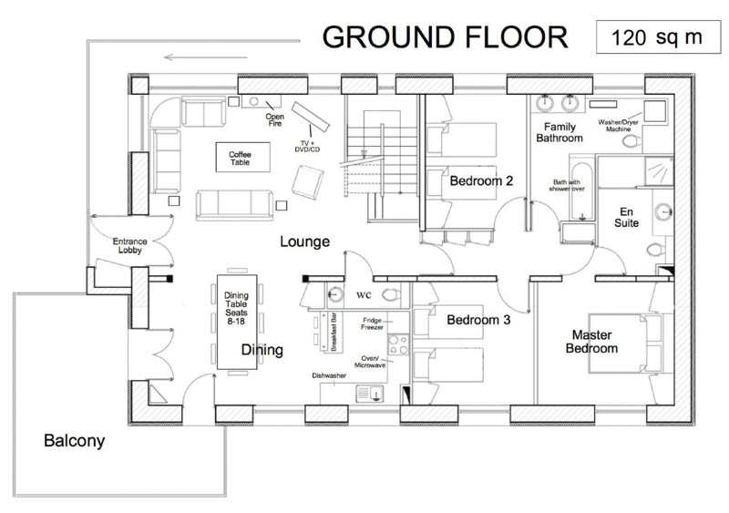 Chalet Champetre Floor Plans And Virtual Tour