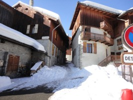 Les Allues Village, Meribel, French Alps.