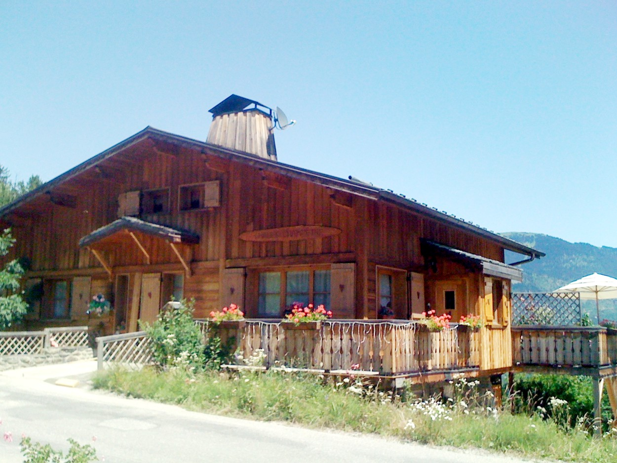 Meribel Apartments - Summer View