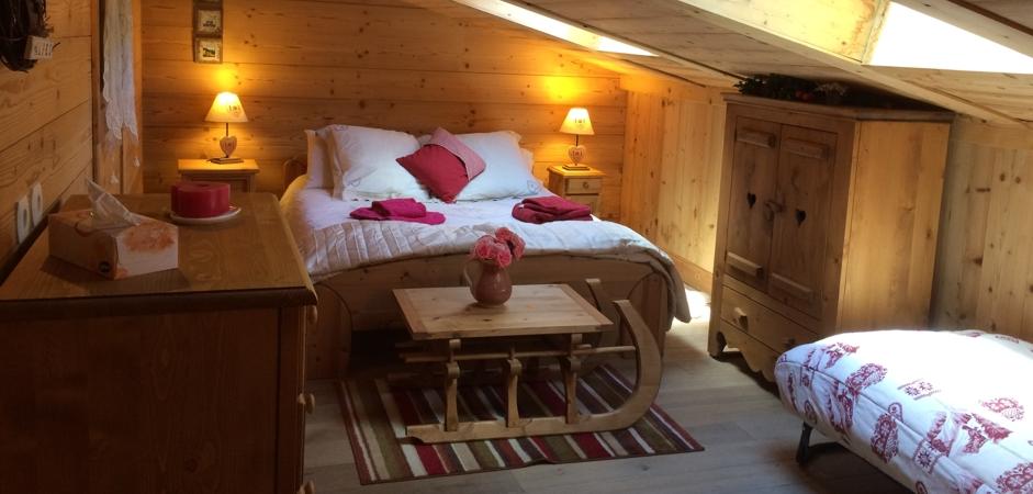 Meribel Apartments - Chalet Champetre Bedroom 5